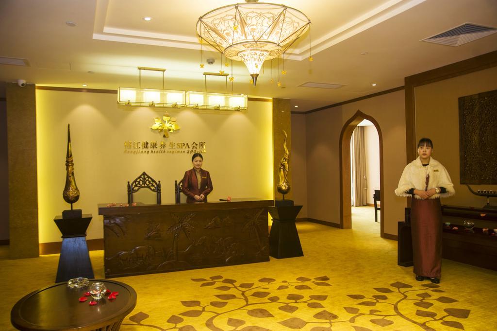 стойка регистрации в отеле