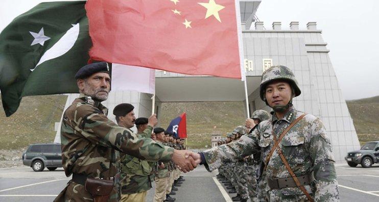 военные учения КНР и Пакистана
