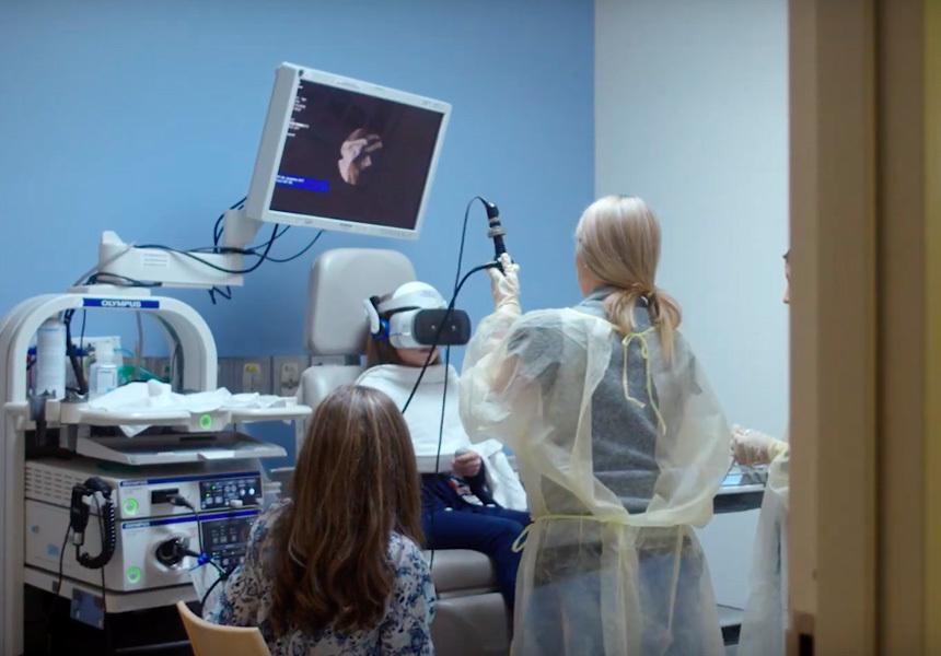 виртуальная реальность во время операции