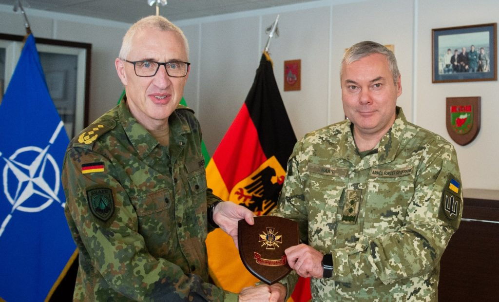 визит делегации Вооруженных сил Украины  к Стратегическому командованию НАТО по планированию операций
