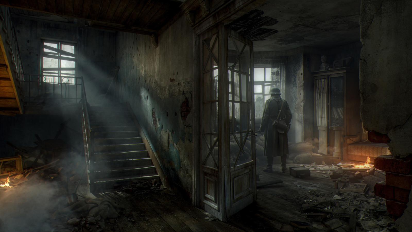 Бои в зданиях в Сталинграде