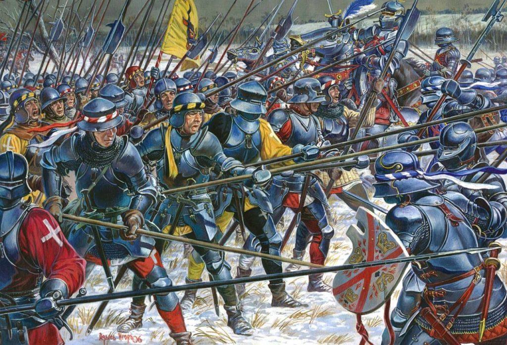 Швейцарская наемная пехота